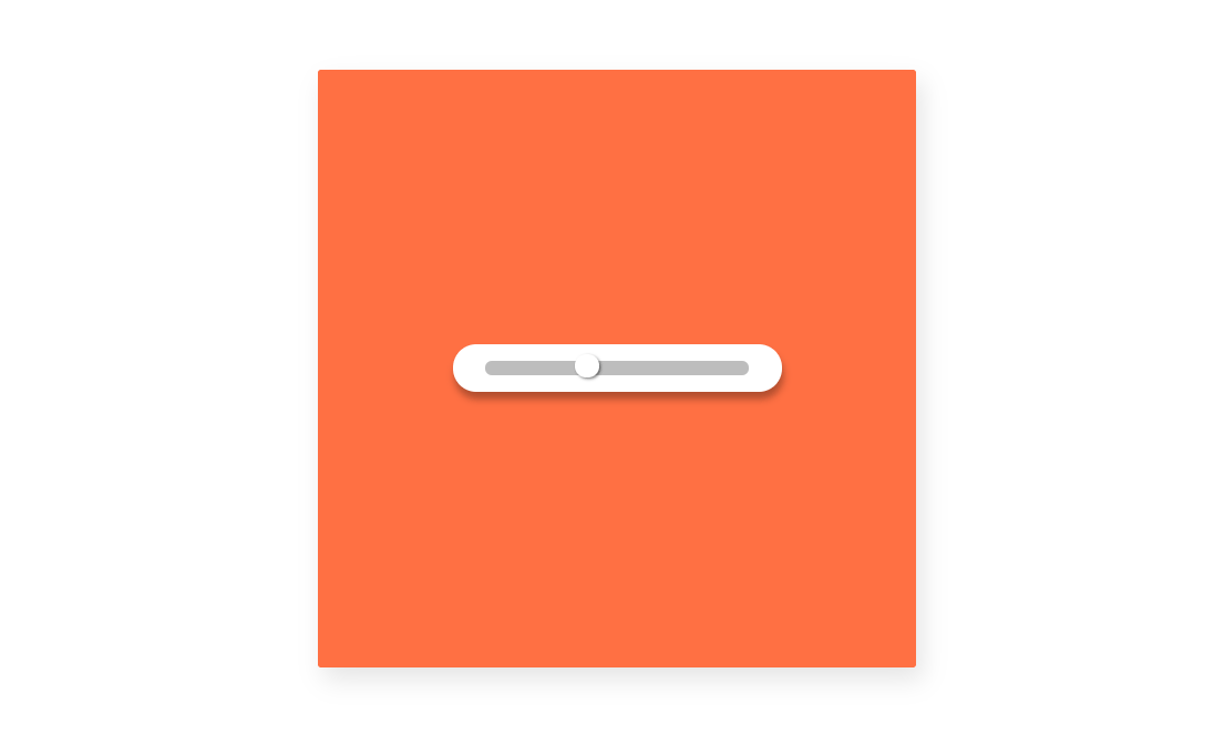 Pure CSS Range Slider Beautiful Example