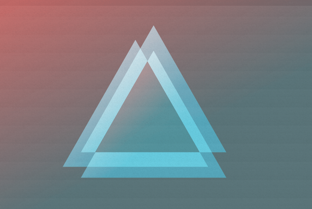 CSS North Wall Triangle with Shadow Hover Effect