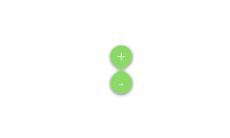 CSS3 Material Button with Blob Effect