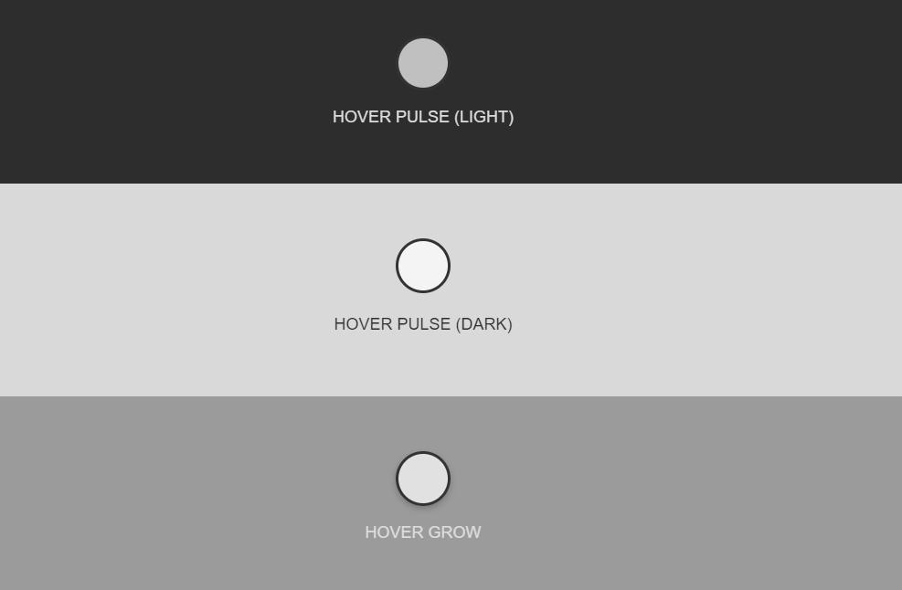 Hotspot Button CSS Hover Effect