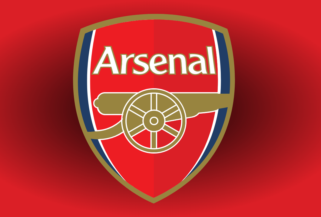 HTML CSS Only Arsenal Badge Clip Path Logo