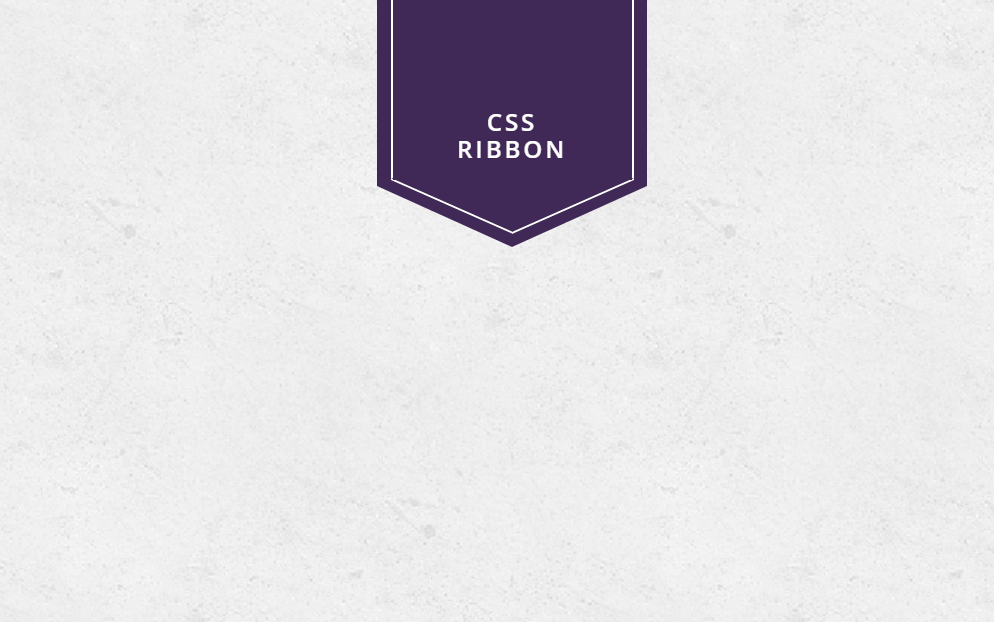 HTML CSS Ribbon Tangles with Inner Border
