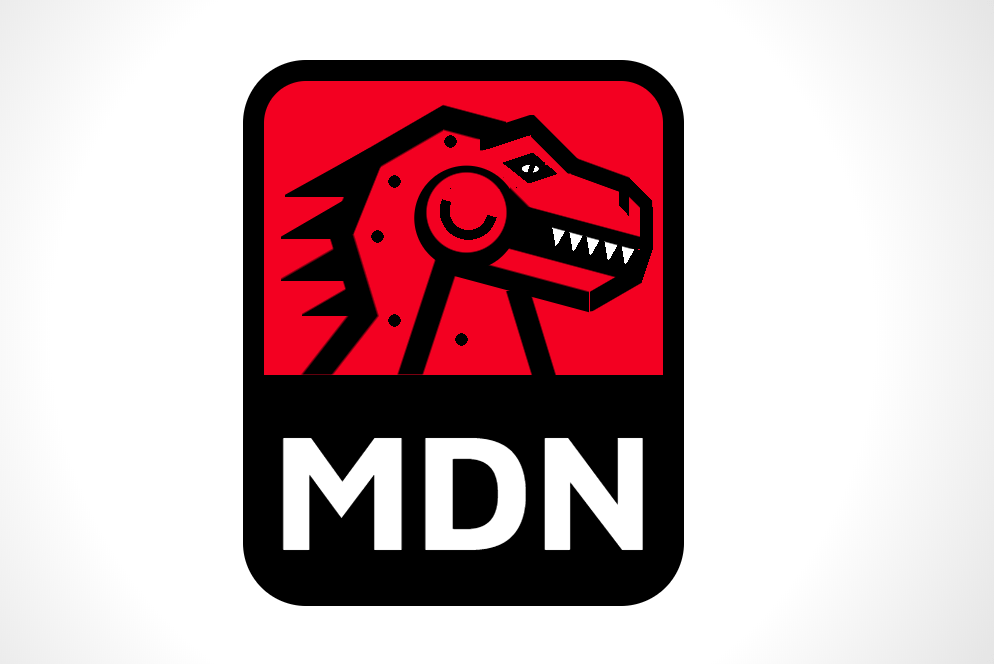 MDN Logo HTML CSS Code Snippet
