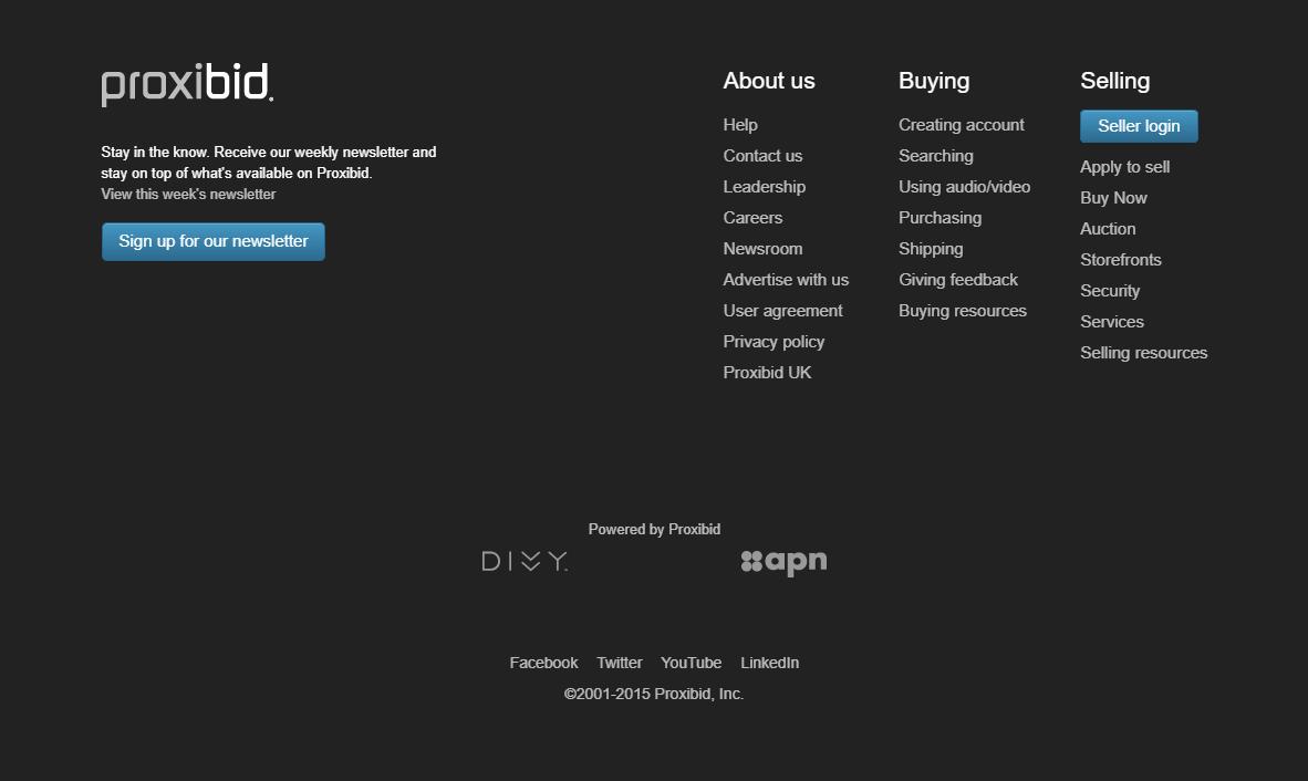 Responsive HTML CSS Website Footer