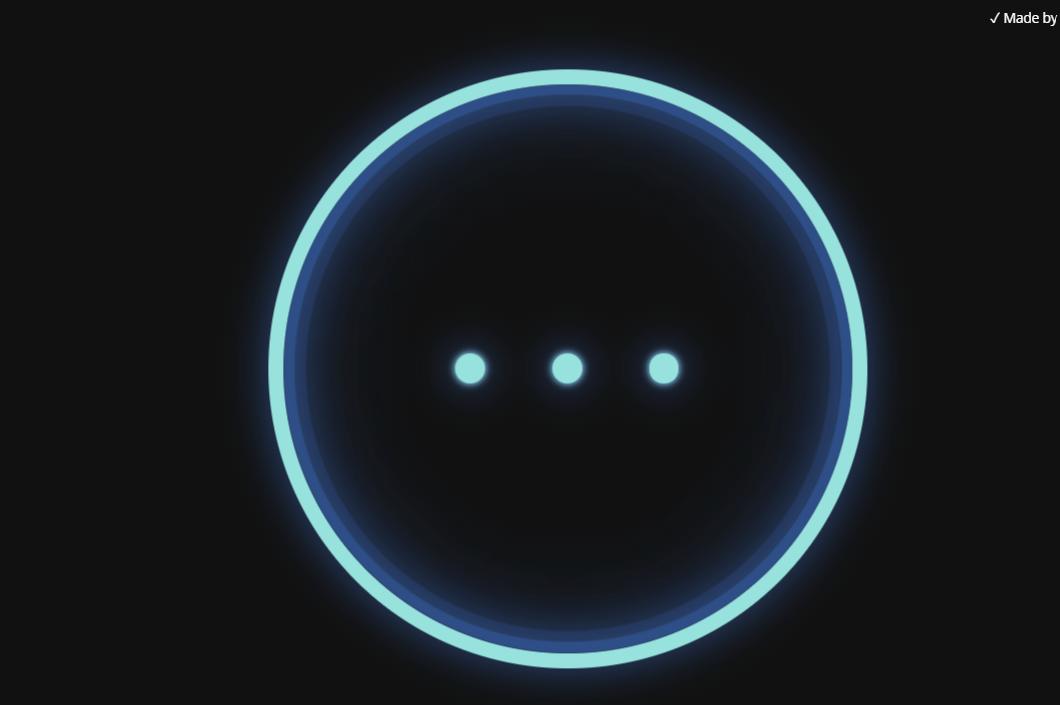 Three Dot Responsive Animated Web Preloader