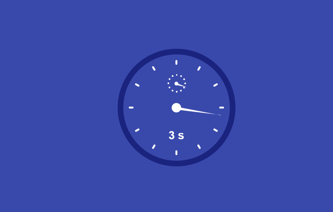Awesome Clock Concept Using HTML And CSS