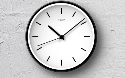 Nice Looking CSS Web Clock Example
