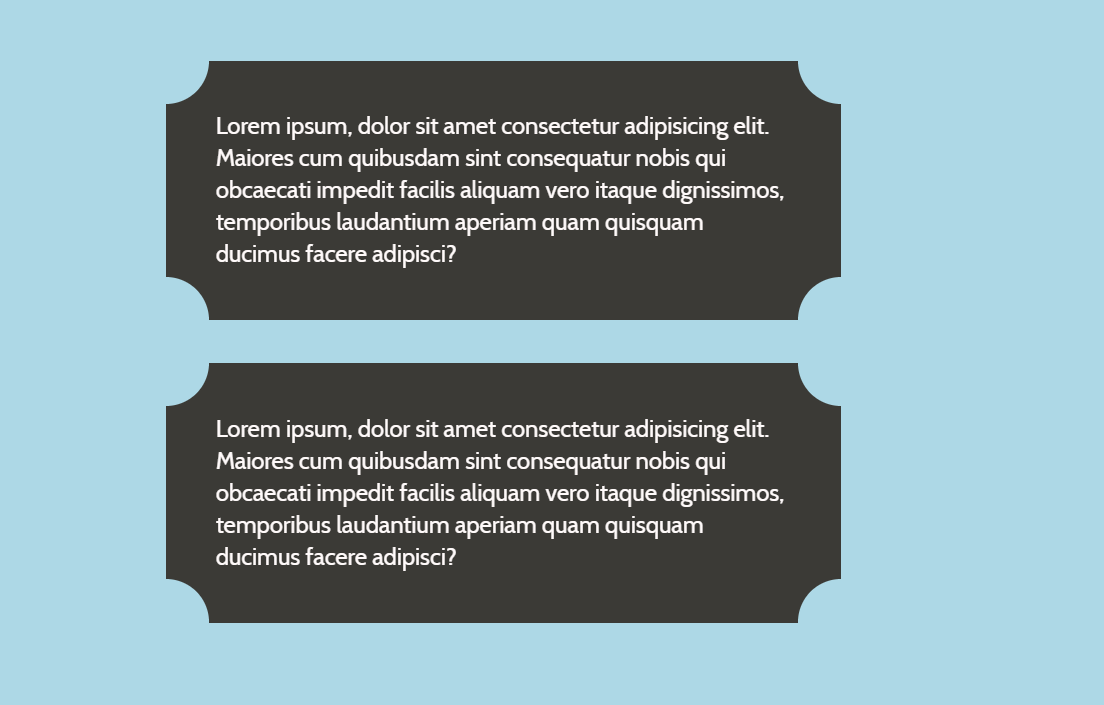 CSS Div Rounded Corners Card Design