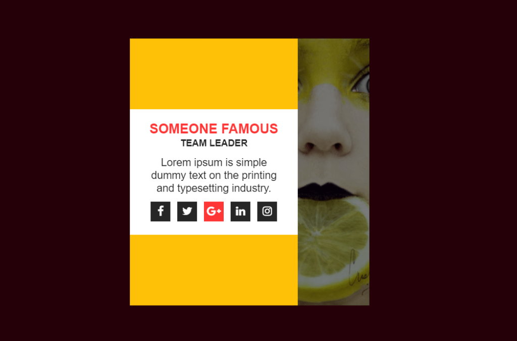 Simple CSS Image Card Hover Effect