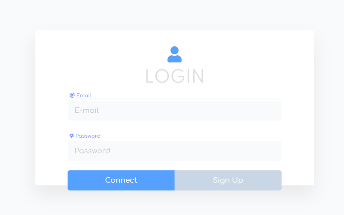 Animated Vue Sign Up And Login From