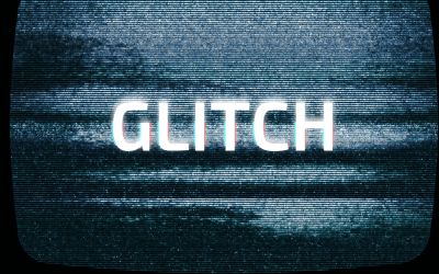 CSS Only Glitch Effects Animation