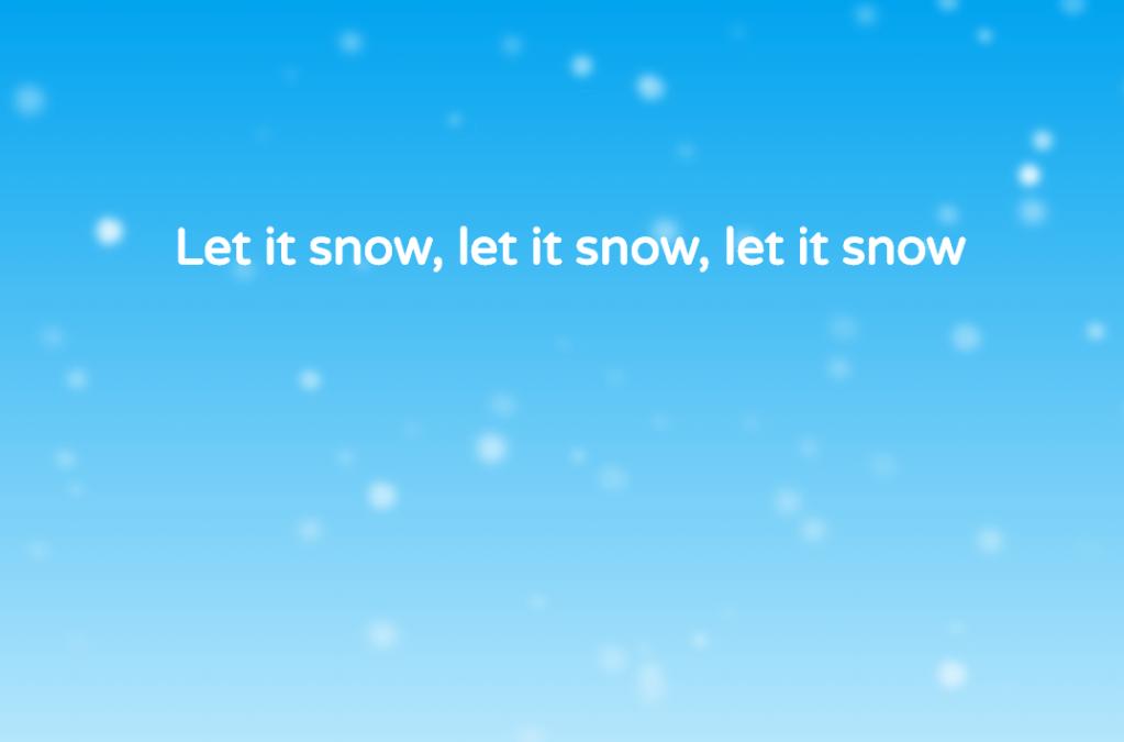 CSS Snow Animation Code Example