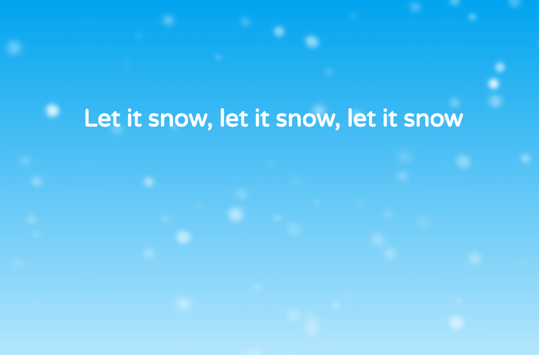 CSS Snow Animation Code Example