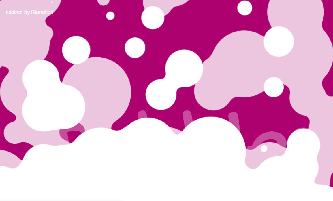 Javascript Background Effects Bubbles