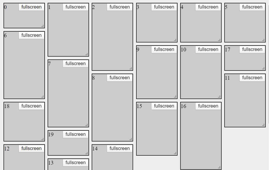 Vue Grid System Code Snippet