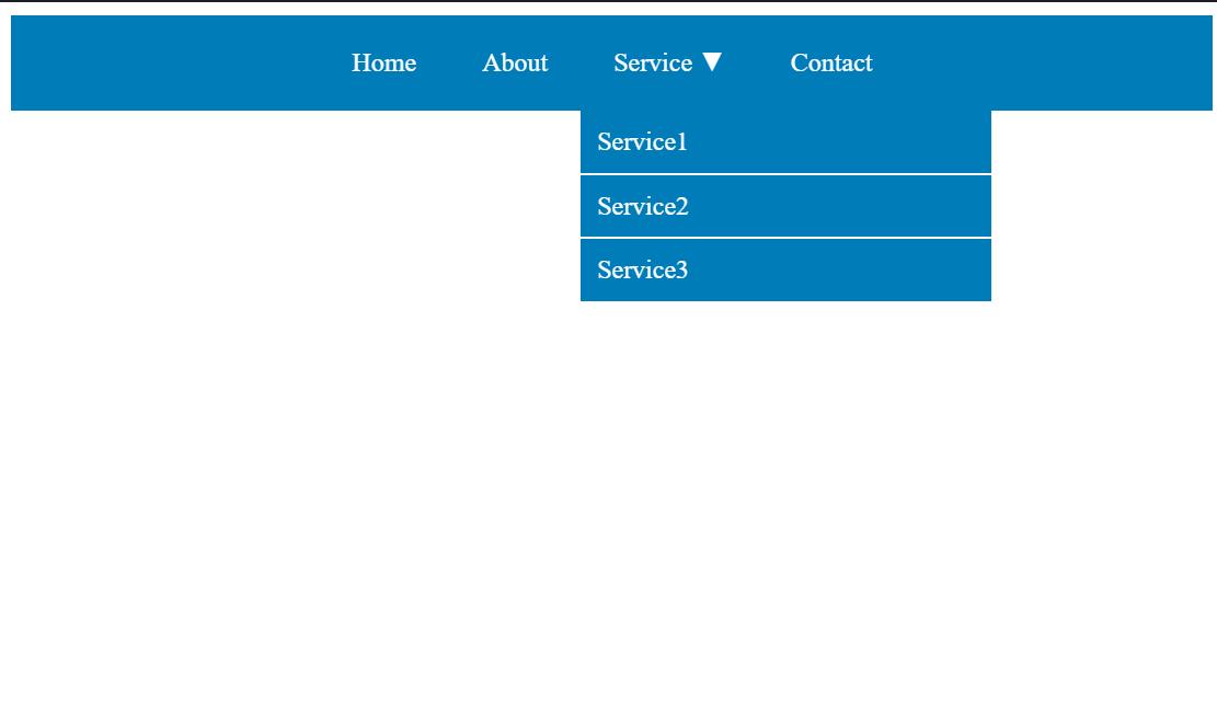 Vue.js Dropdown Menu Example