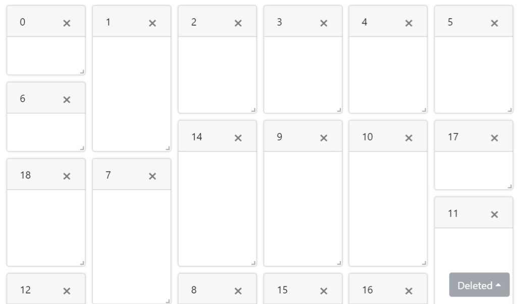 Vue JS Grid Layout Example