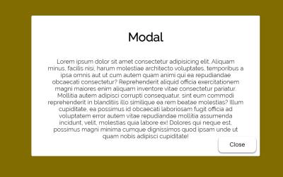 Vue JS Modal Component