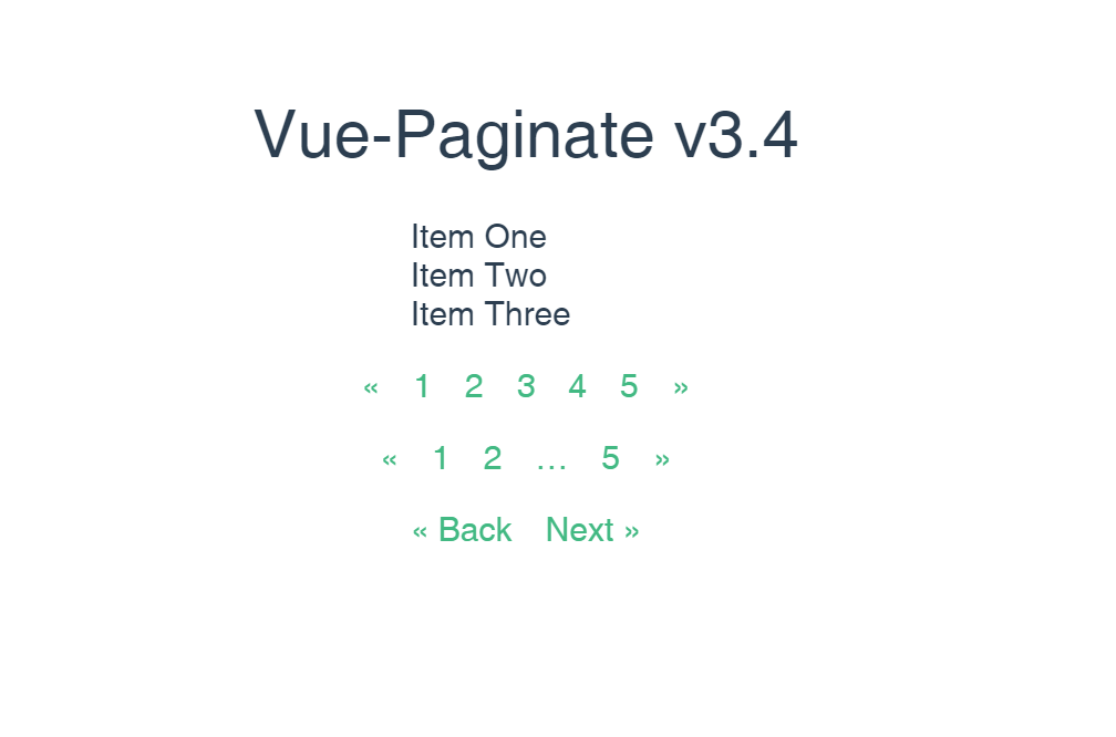 Vue JS Pagination Example