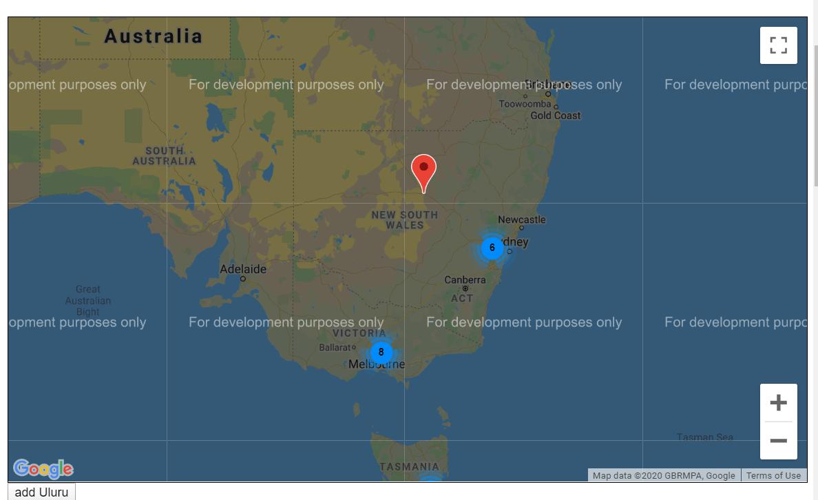 Vue Maps Design For Website