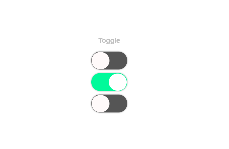 Vue Toggle Button Code Snippet