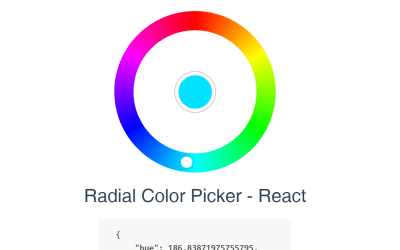 Color Picker React JS Example