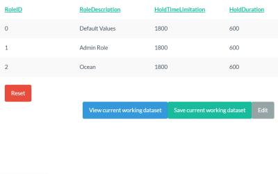 React JS Data Table