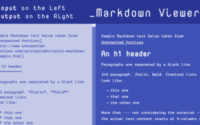 React.js Markdown Editor And Viewer