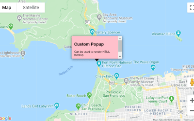 ReactJS Google Maps InfoWindow