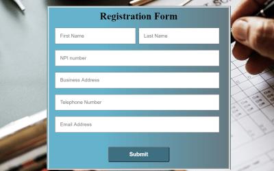 React JS Registration Form