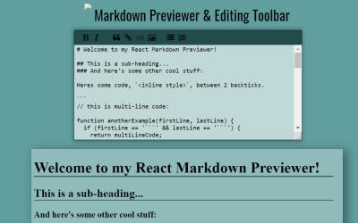 ReactJS Text Editor Component
