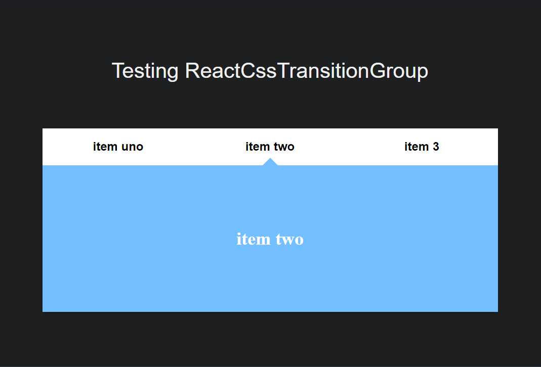 react-transition-group-tabs-animation