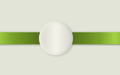 CSS Responsive Olive Ribbon Style