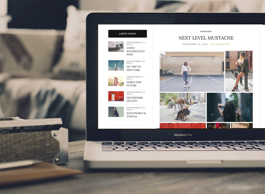 Olsen Blogging Premium Wordpress Theme 1