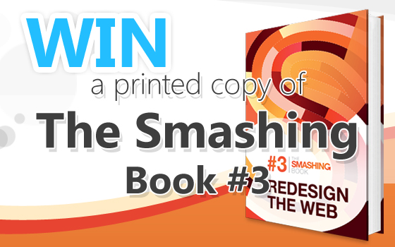 Win The Smashing Book 3