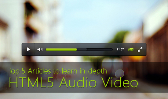 Learn HTML5 Audio Video