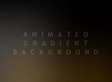 Animated Gradient Background with Pure CSS - CSS Script