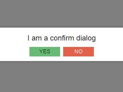 Small JavaScript Alert & Confirm Dialog Replacement – Custom Alert