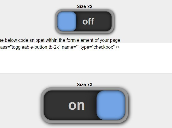 Checkbox Based Toggle Buttons with Pure JavaScript