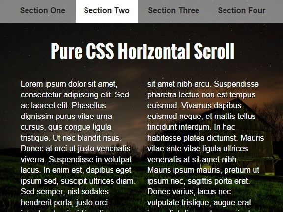how to create slider in css