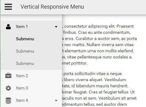 Responsive Sidebar Navigation with JavaScript and CSS3