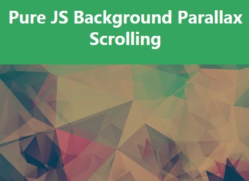 scrolling background