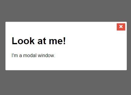 Basic Vanilla JavaScript Modal with CSS3 Animation – vanillaModal.js