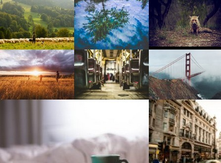 Pure JavaScript / CSS Powered Photo Gallery Popup – zoomwall.js