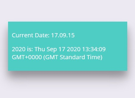 Lightweight JavaScript Library For Displaying Date with Custom Format – lengthy