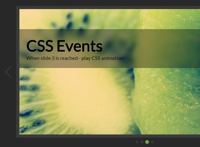 Lightweight Content Slider with Pure CSS / CSS3