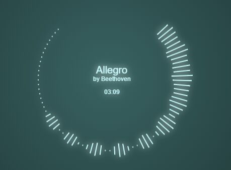 Minimal Audio Visualizer With Canvas and Vanilla JavaScript