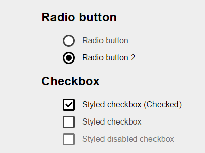 Pretty Custom Checkboxes & Radio Buttons with Pure CSS – CSS3 Checkbox
