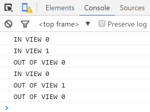 JavaScript Library To Detect If An Element Is In View – inView.js