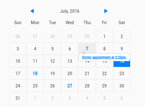 Script Calendario Html.Create A Simple Event Calendar With Javascript Caleandar